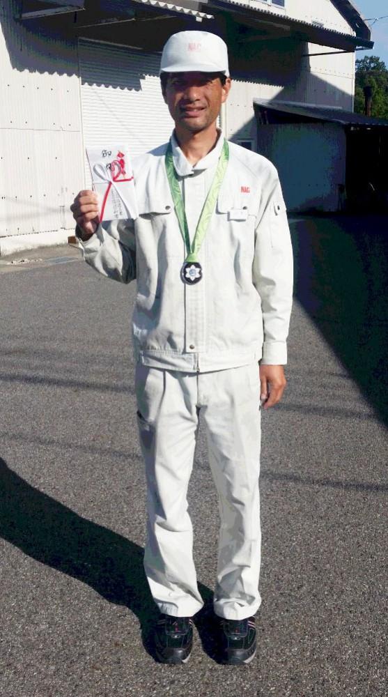 山本春樹銀メダル2